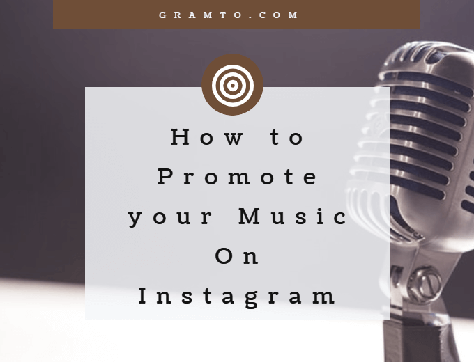 promote music on Instagram