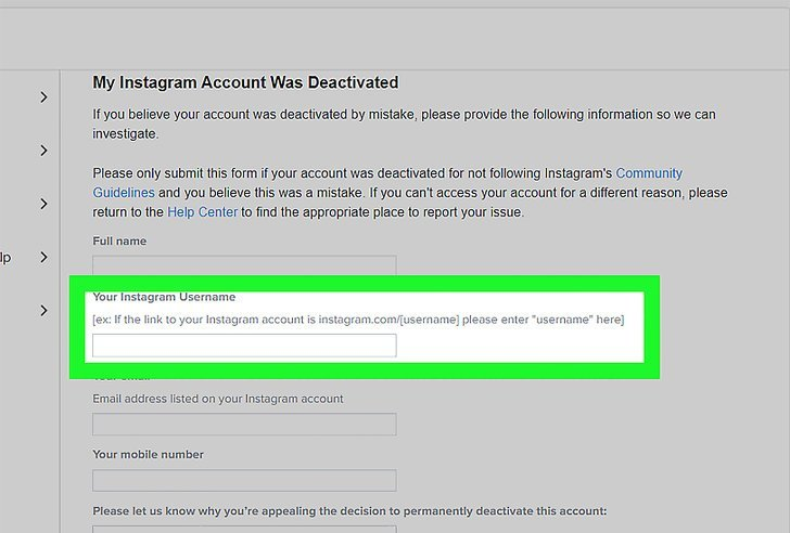 How to Recover Disabled Instagram Account