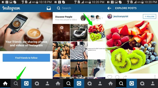 How to find someone on Instagram using Popular Posts