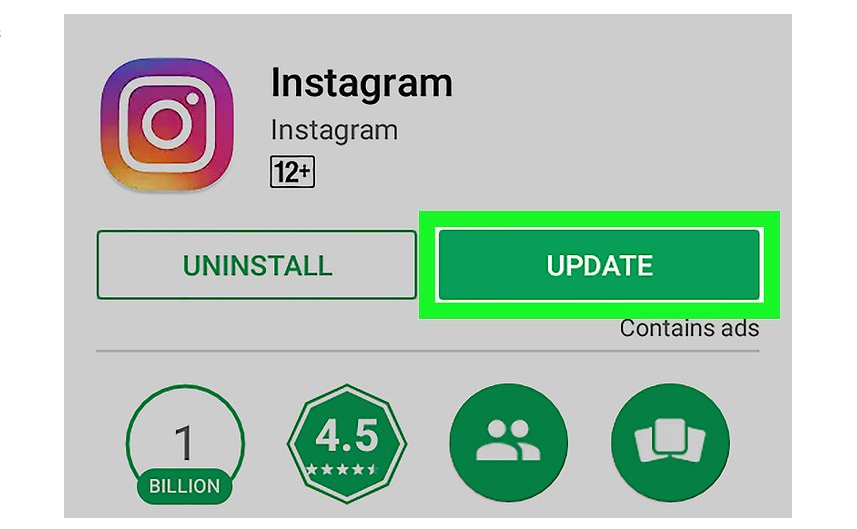 Update Instagram App to fix video upload issues