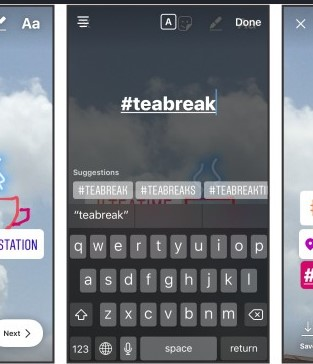 How To Add Hashtags To Instagram Stories